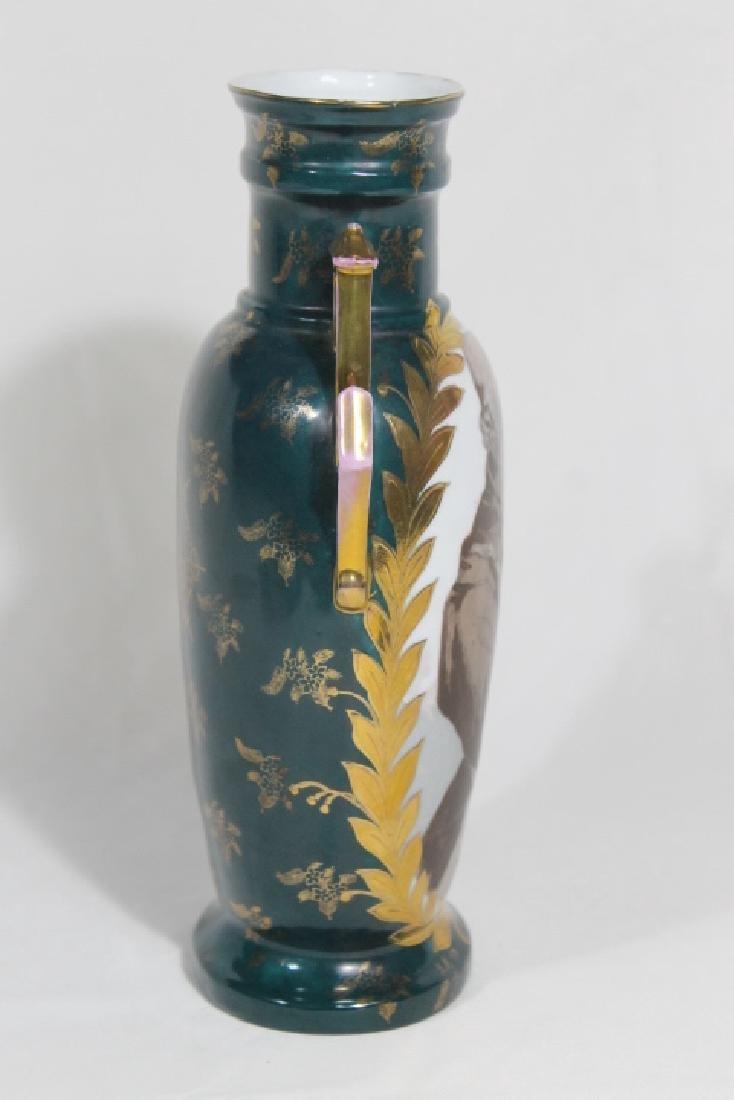 Hd Ptd Austrian Vase - 4