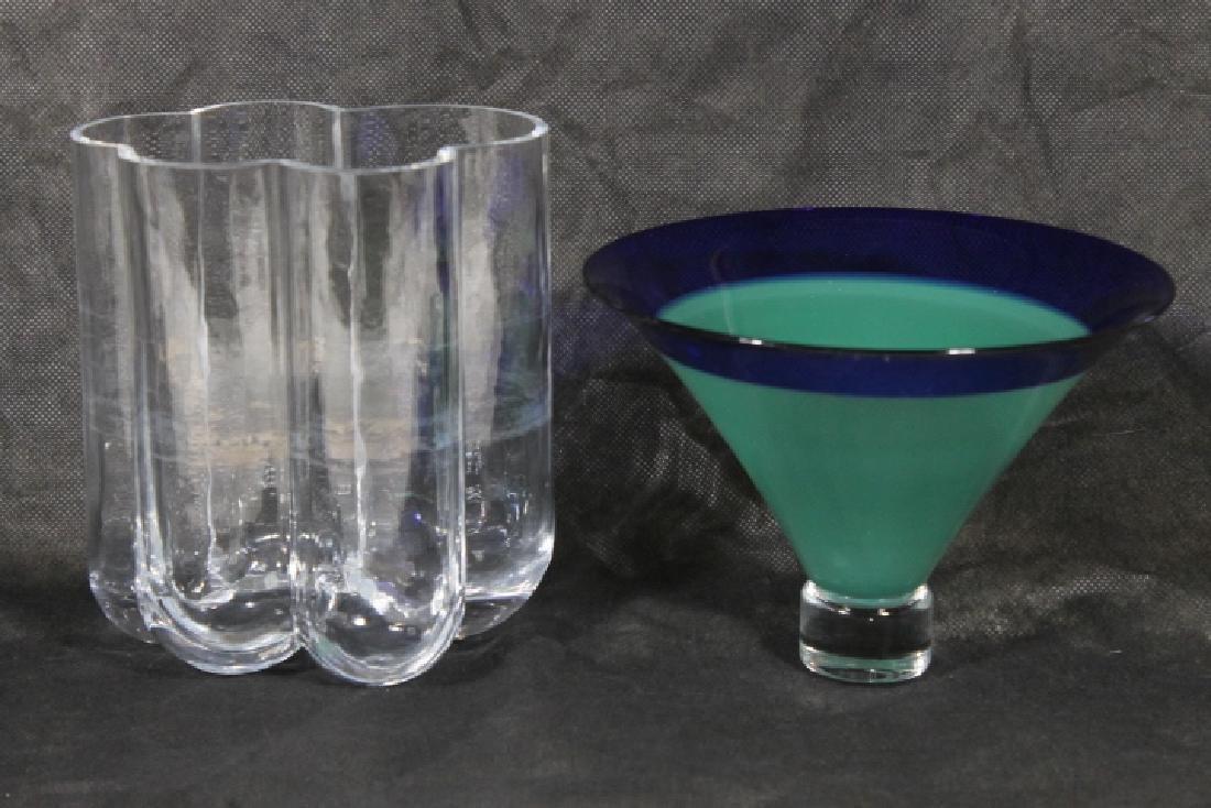 Mid Modern Glass Lot