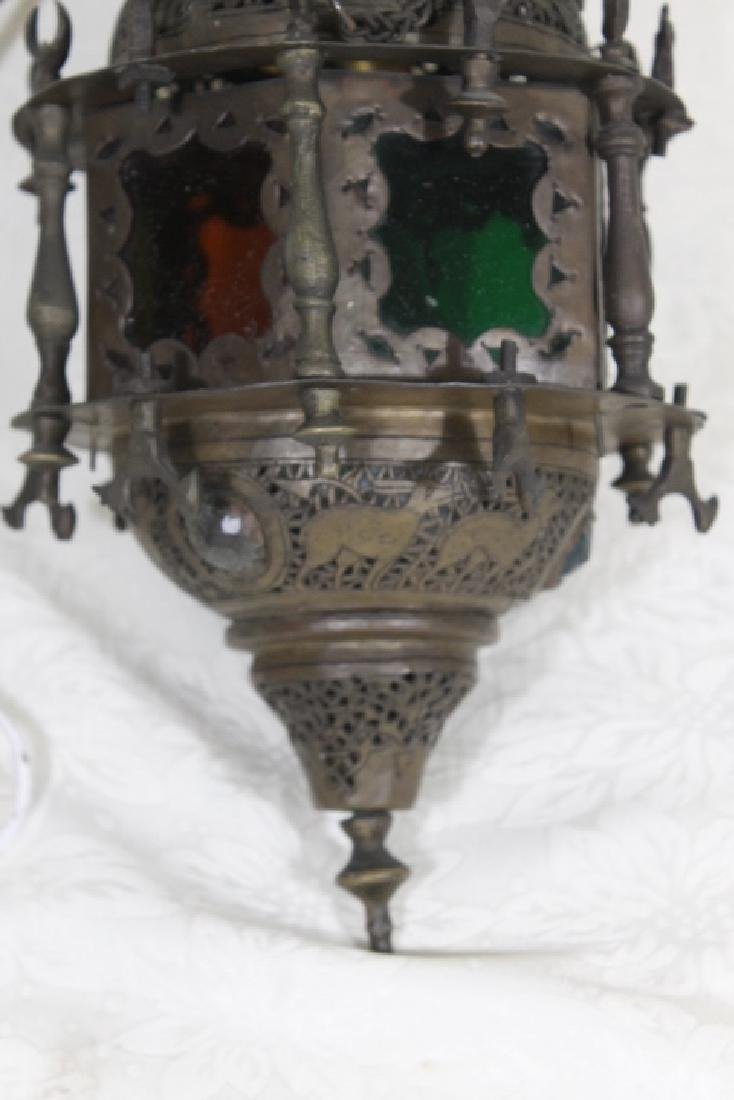 Moorish Hanging Lamp - 3