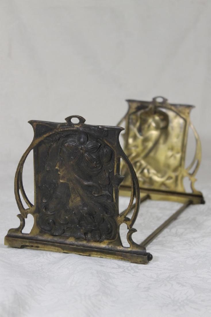 Art Nouveau Book Stand