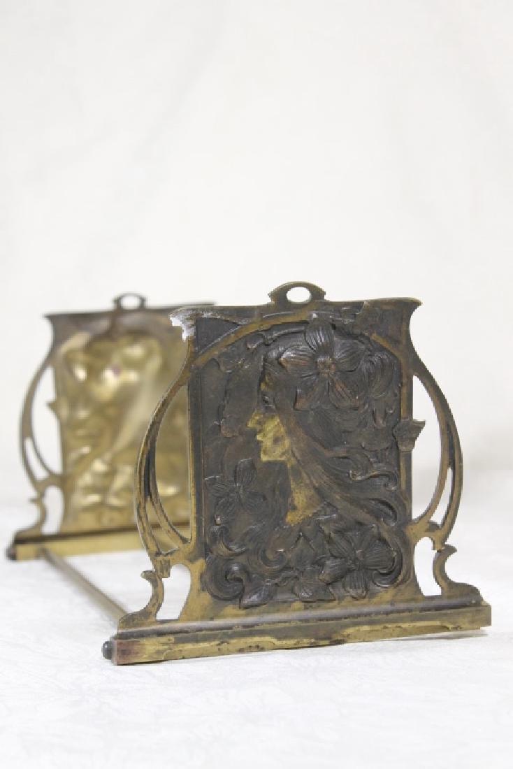 Art Nouveau Book Stand - 2