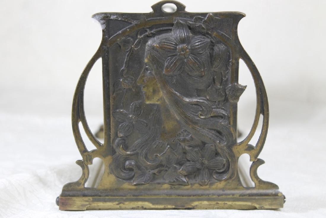 Art Nouveau Book Stand - 3