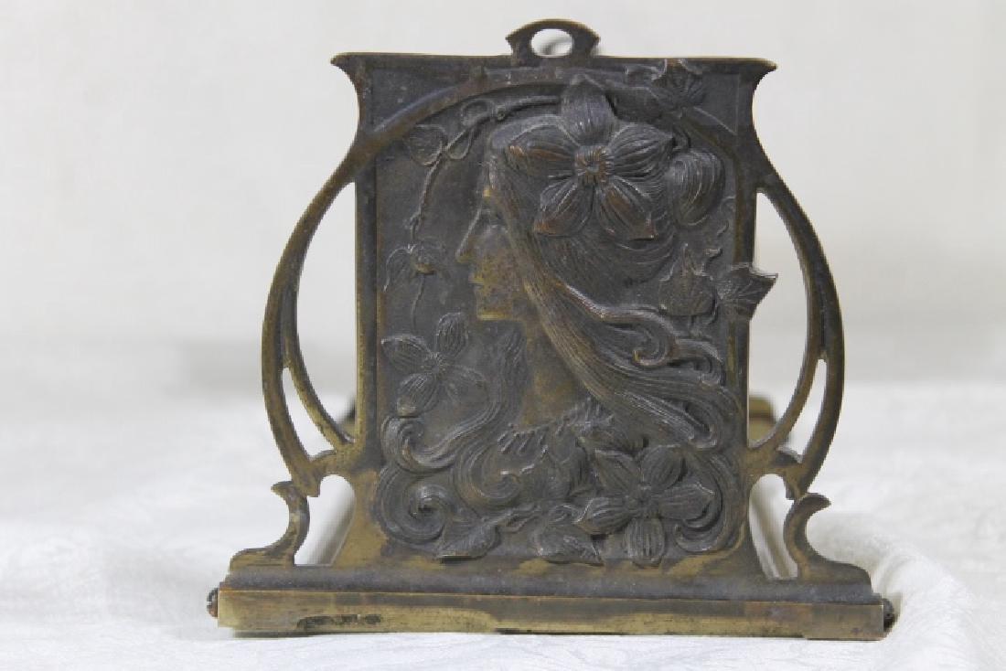 Art Nouveau Book Stand - 4