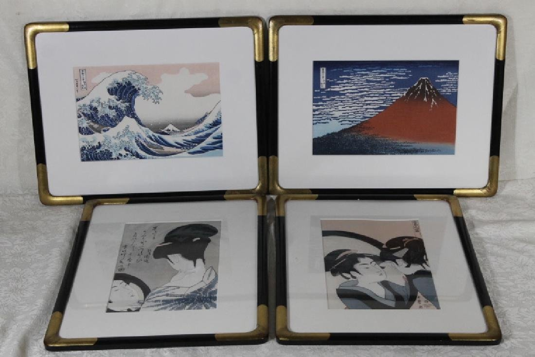 Four Woodblock Prints