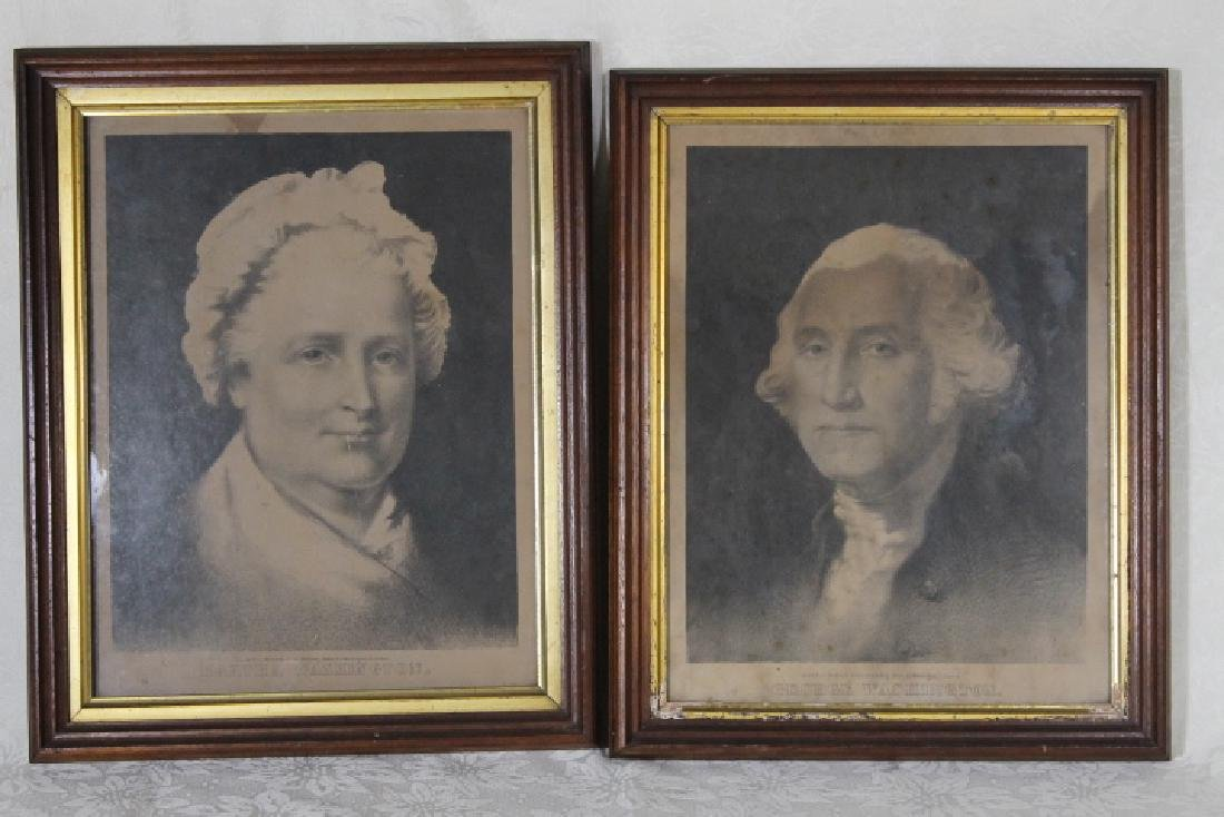 George & Martha Washington Prints