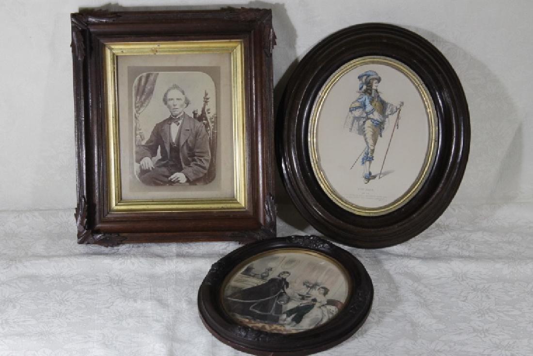 Three Victorian Frames