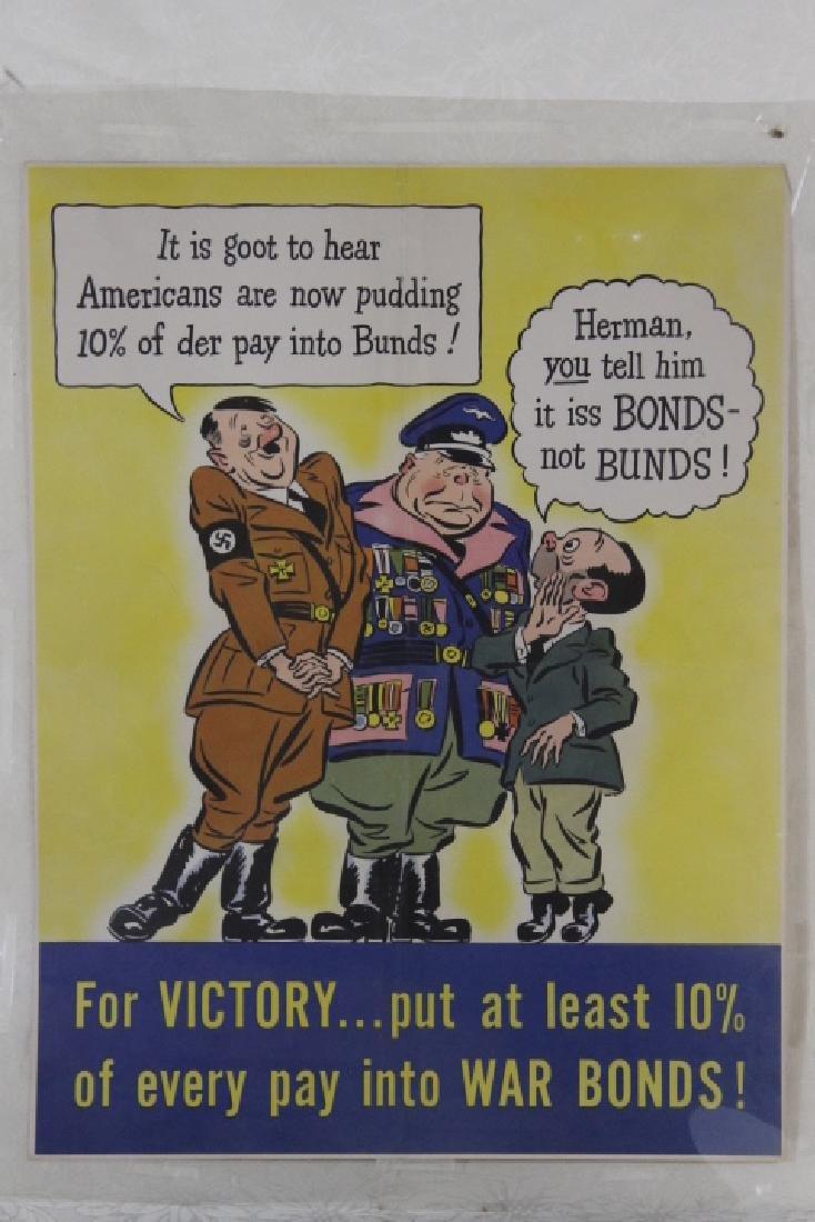 Two World War II War Posters - 2