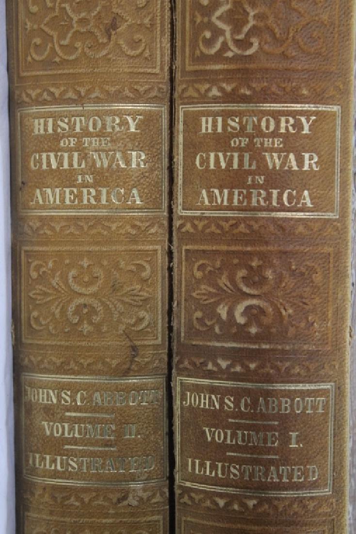 """""""History of the Civil War"""" Vol I & II - 3"""