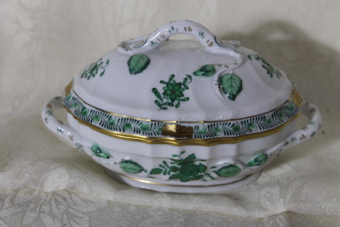 Herend Porcelain Small Covered Tureen