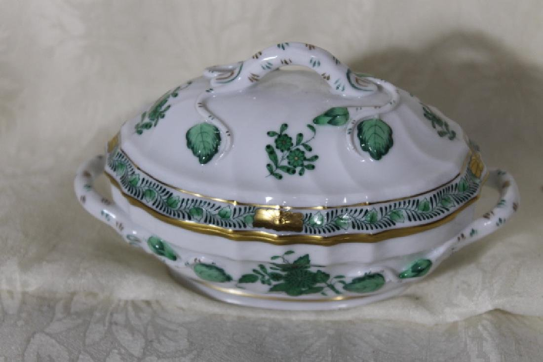 Herend Porcelain Small Covered Tureen - 2