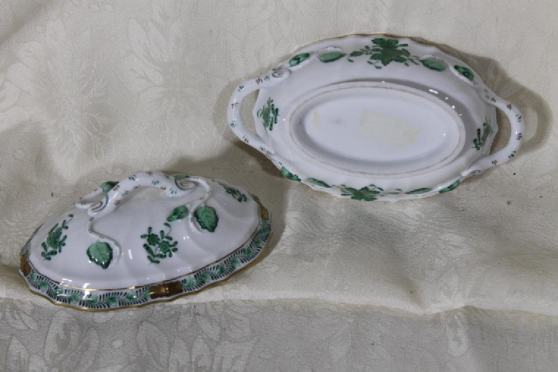 Herend Porcelain Small Covered Tureen - 3