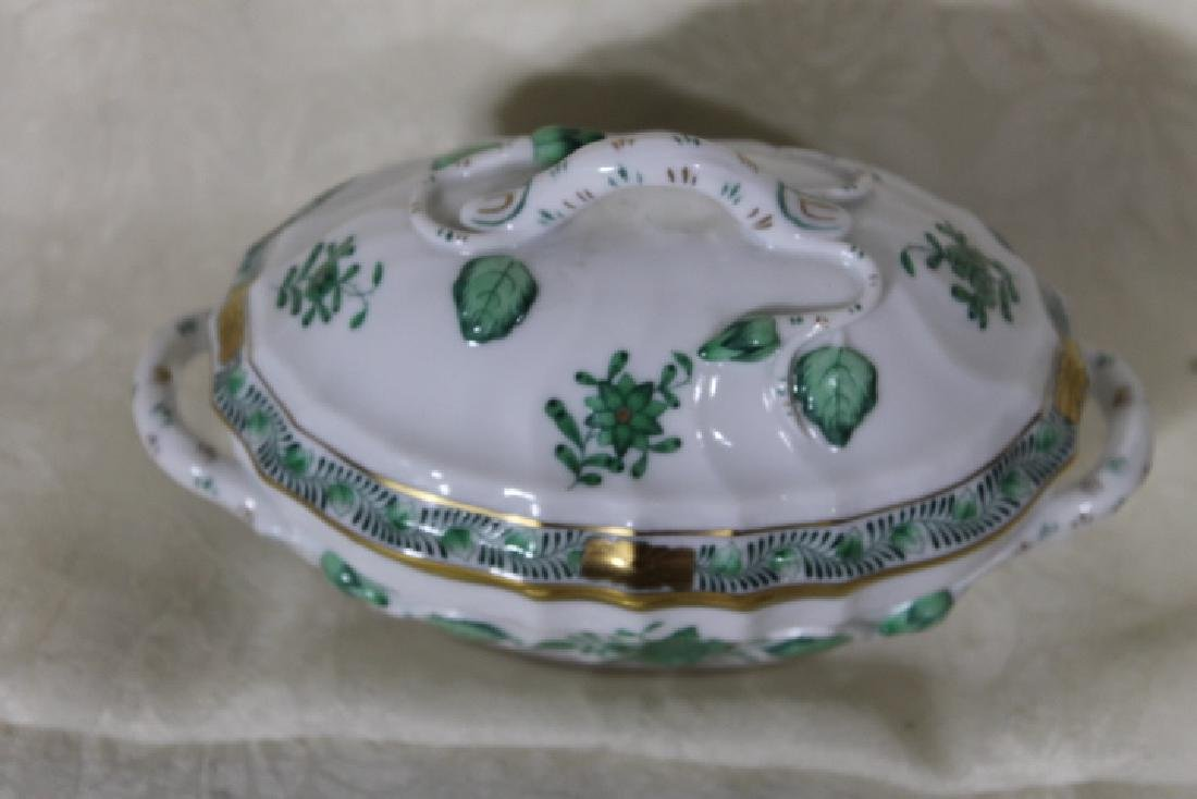 Herend Porcelain Small Covered Tureen - 4