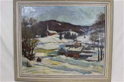 Gertrude Remy Oil On Canvas