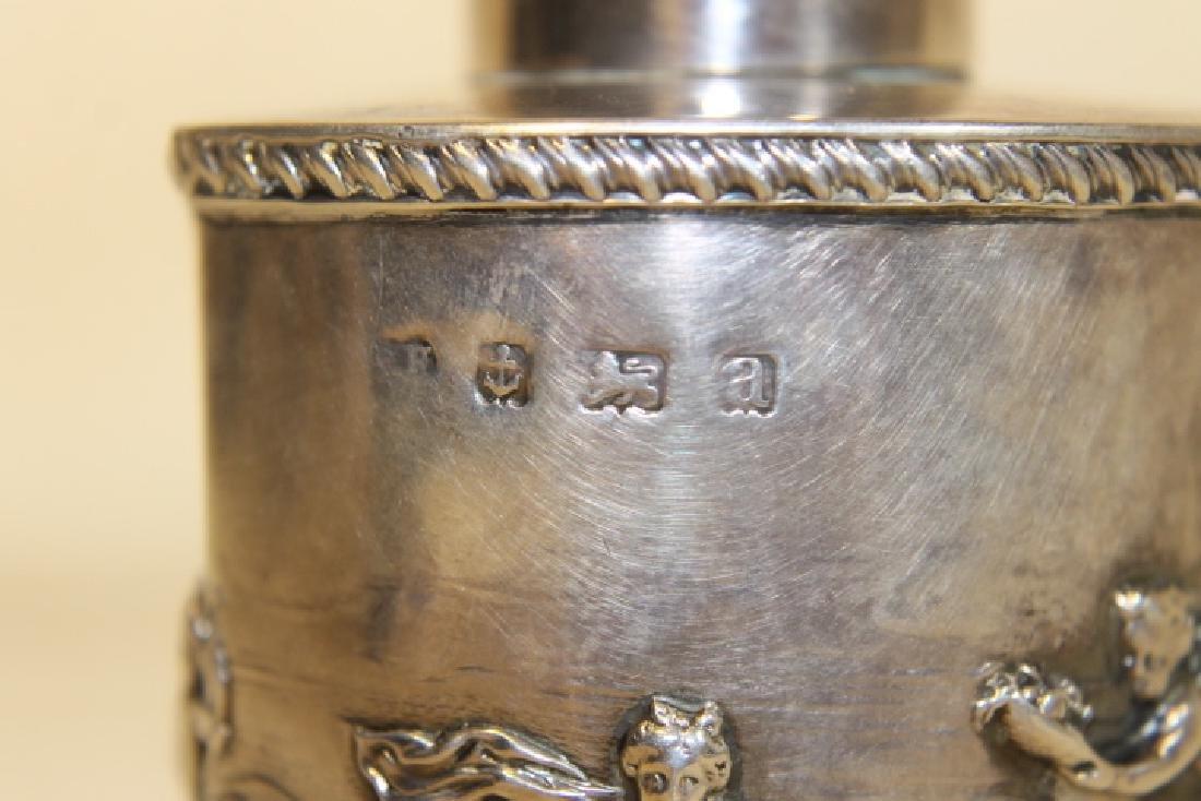 Hallmarked Silver Tea Service - 5