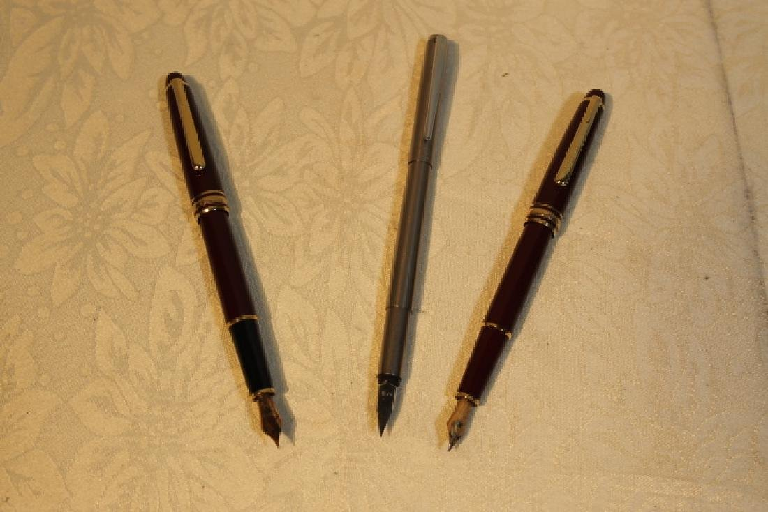Three Mont Blanc Pens - 2