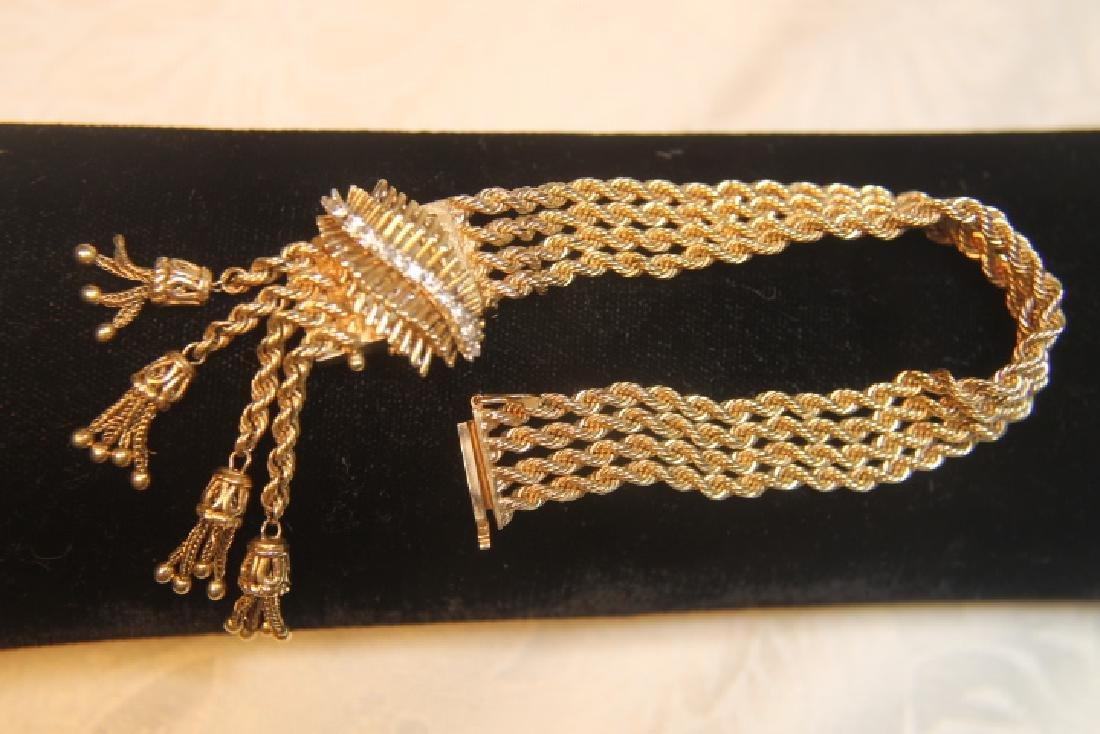 14kt Gold Geneva Ladies Watch - 4