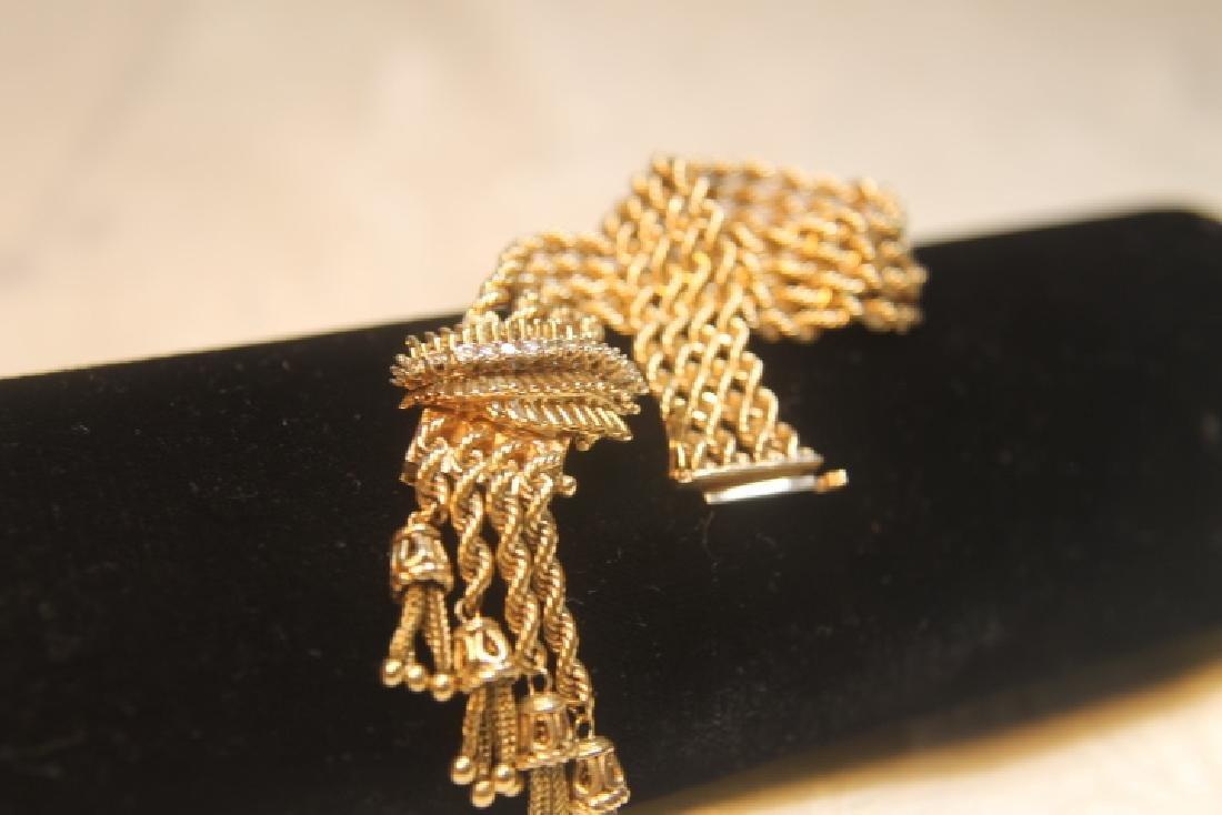 14kt Gold Geneva Ladies Watch - 5
