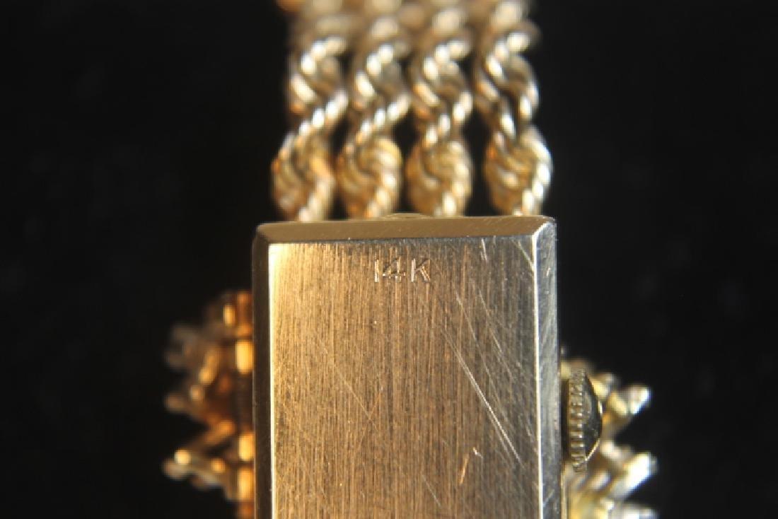 14kt Gold Geneva Ladies Watch - 6