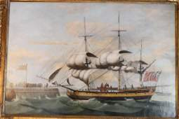 Oil On Canvas Attributed to Francis Holman