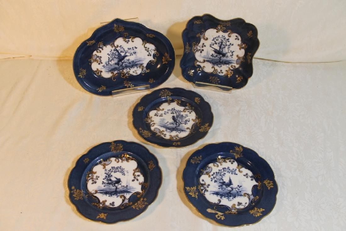 Five Pcs of Royal Worcester