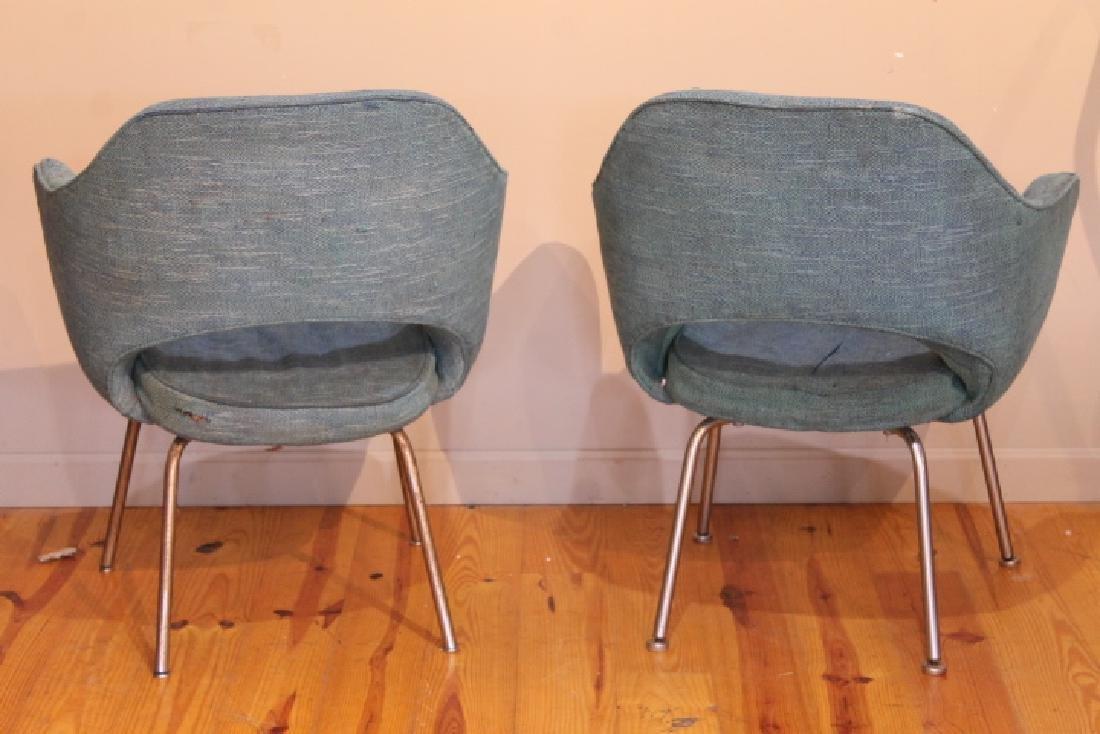 Pr. of Mid Century Arm Chairs - 2