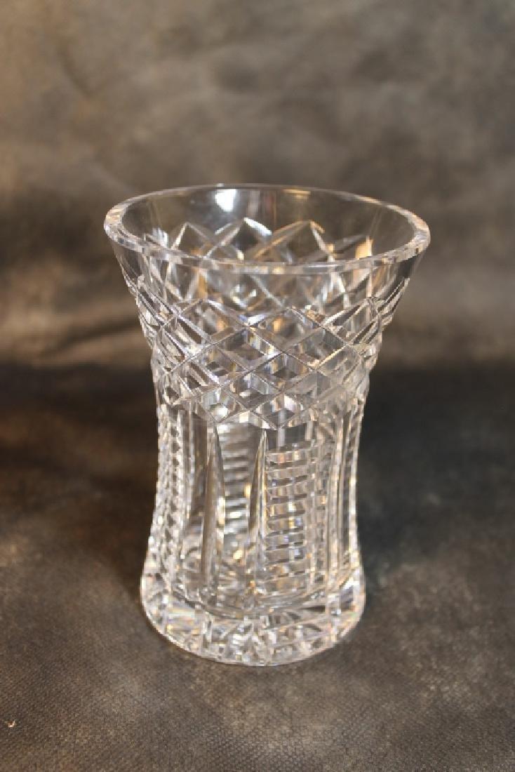 Waterford Decanter, & Vase - 3