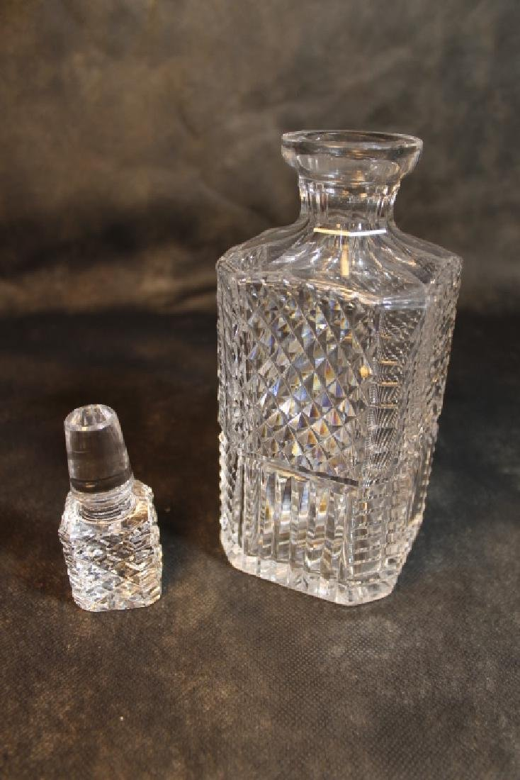 Waterford Decanter, & Vase - 4