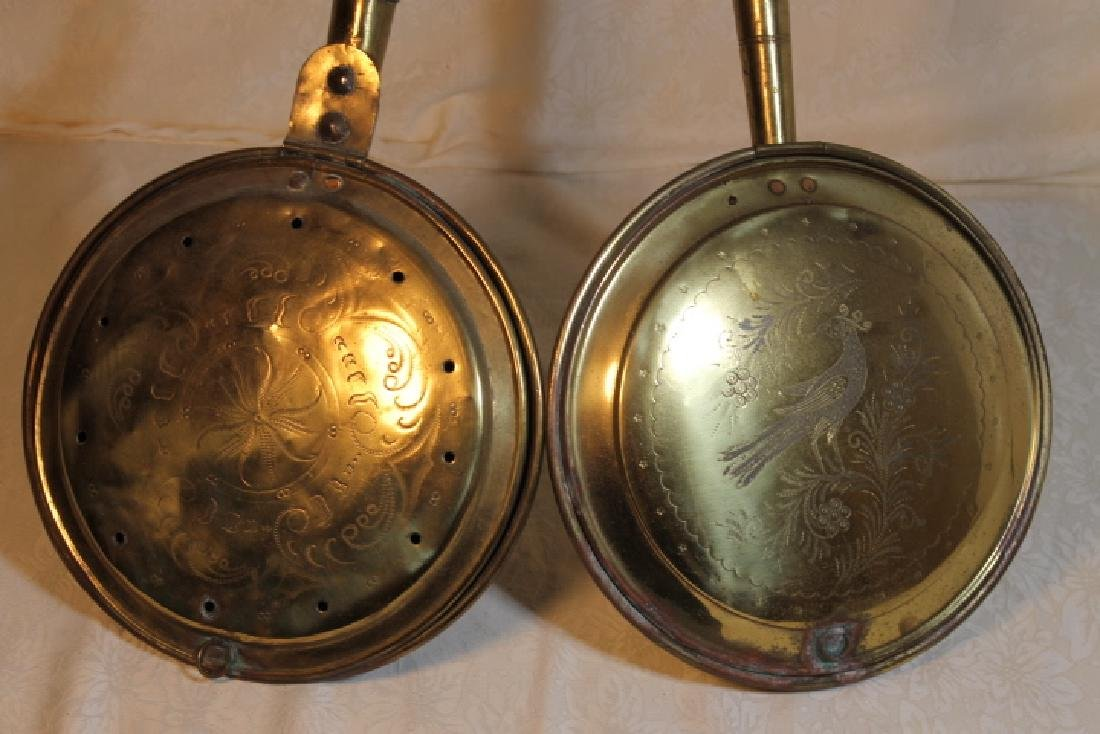 Two 19th Century Bed Warmers - 2