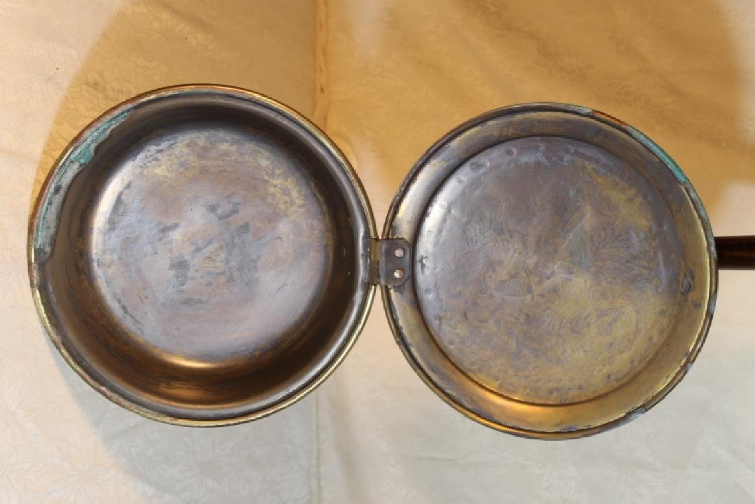 Two 19th Century Bed Warmers - 8