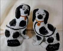 Pr. of Staffordshire Dogs