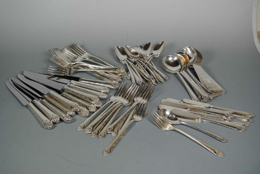 Holmes & Edwards 76 pc. Plated Flatware Service