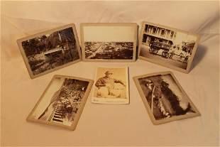 Six Vintage Cabinet Cards