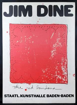 Jime Dine Poster, 1971 [Am. b.1935]