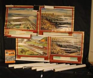 1940's & 50's Pennsylvania Railroad Calendars