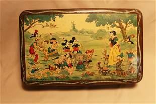 1930's Disneyland Tin
