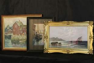Three Assorted Water Scenes