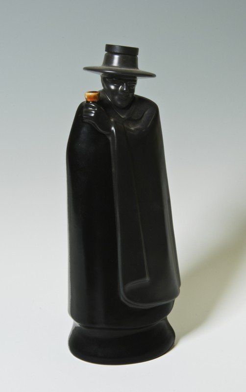 11: Wedgewood porcelain figural sherry bottle, 1969, 10