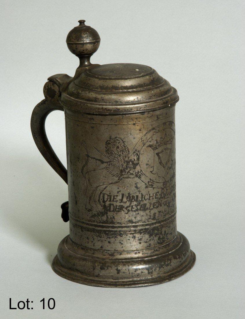 10: German Tankard 1781