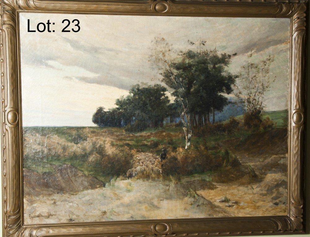 23: Eugen Dryden Oil