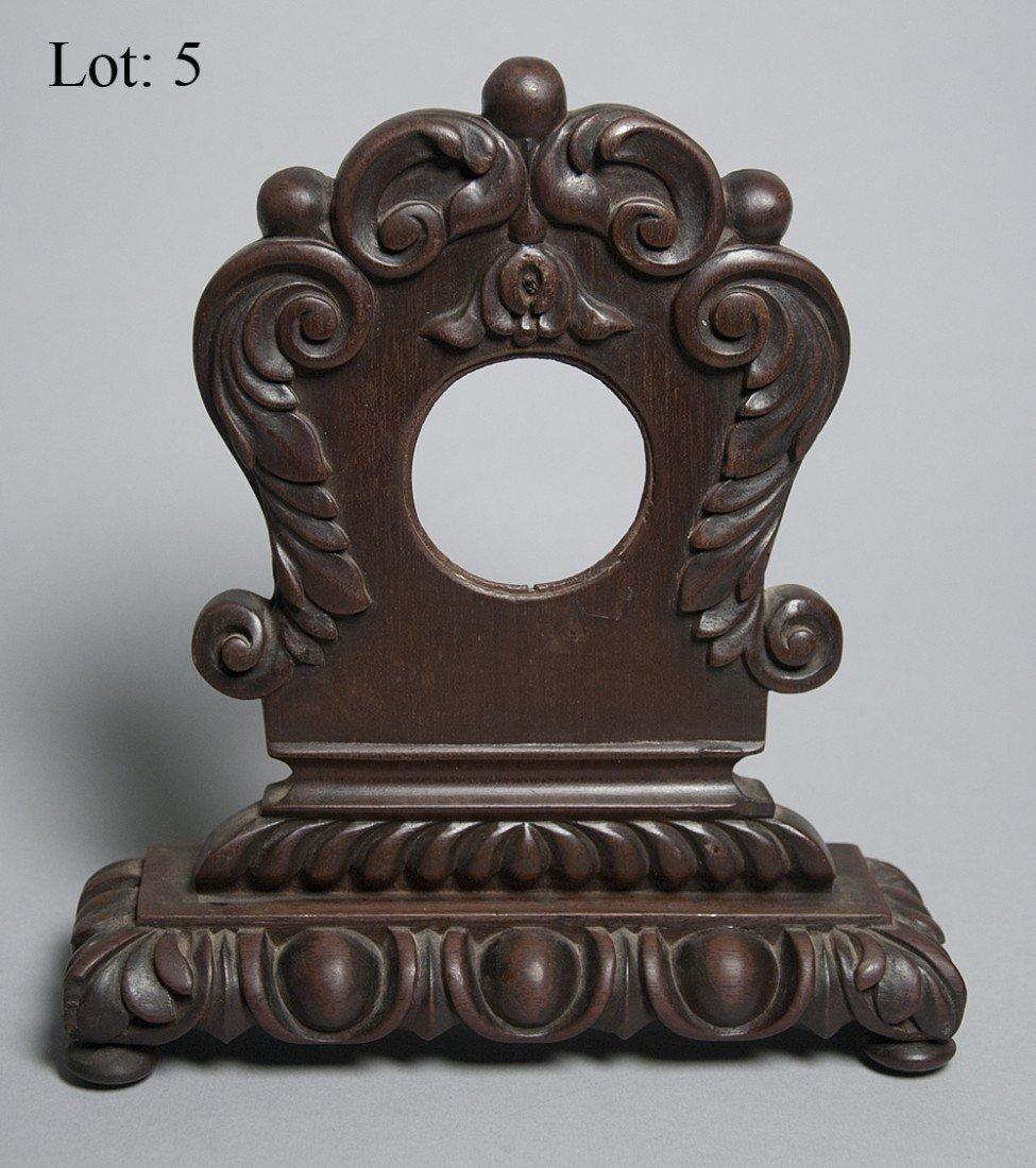 5: Victorian tabletop pocket watch case
