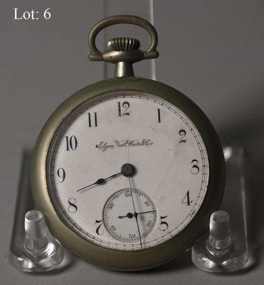 6: Elgin pocket watch