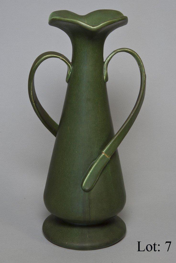 7: Hampshire pottery vase