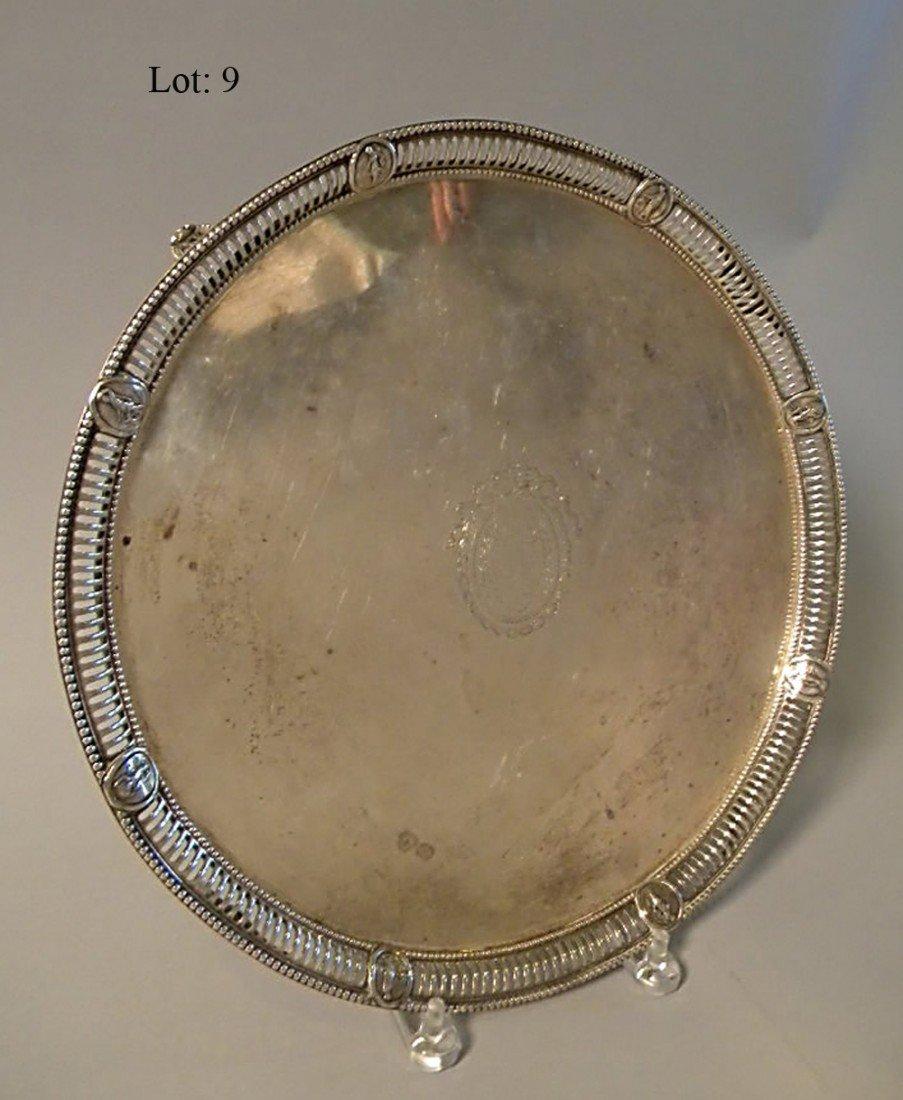 9: Silver salver