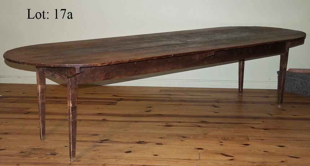 17A: 19th Century French farm table