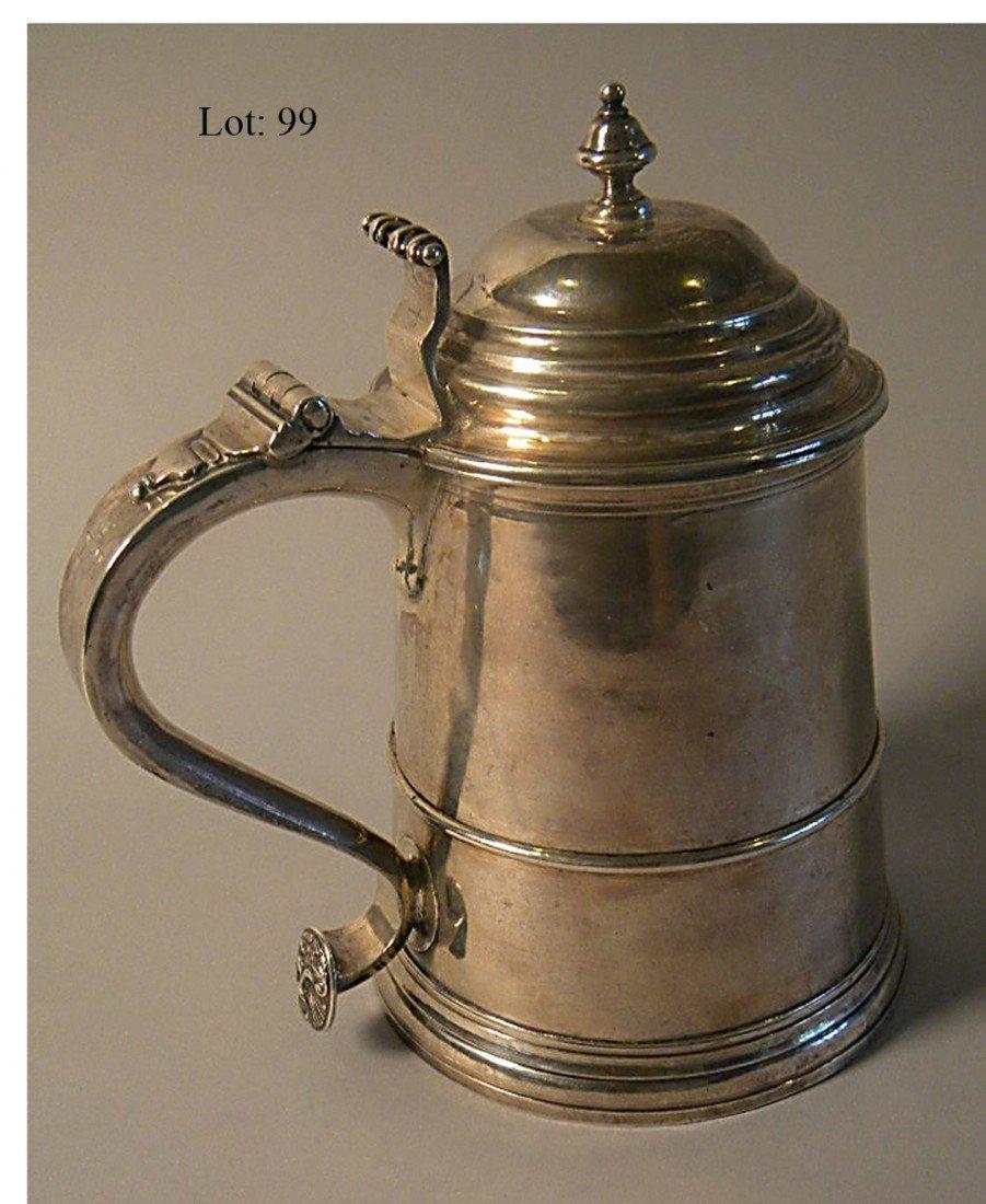 99: Silver tankard by William Simpkins