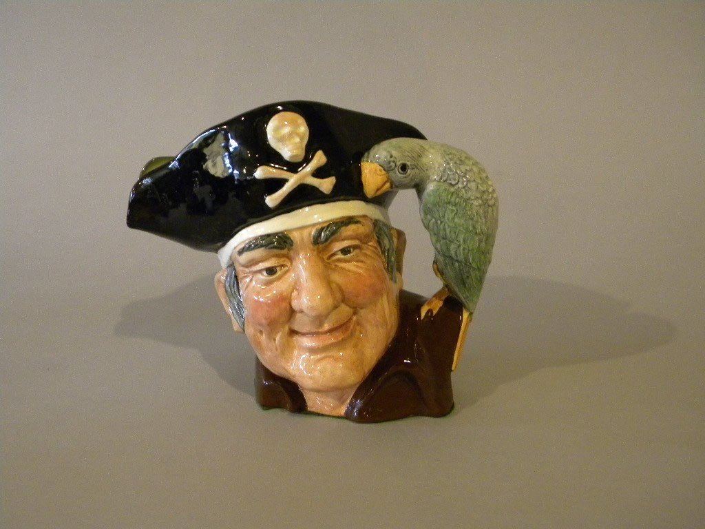 "1: Royal Doulton large toby ""Long John Silver"""