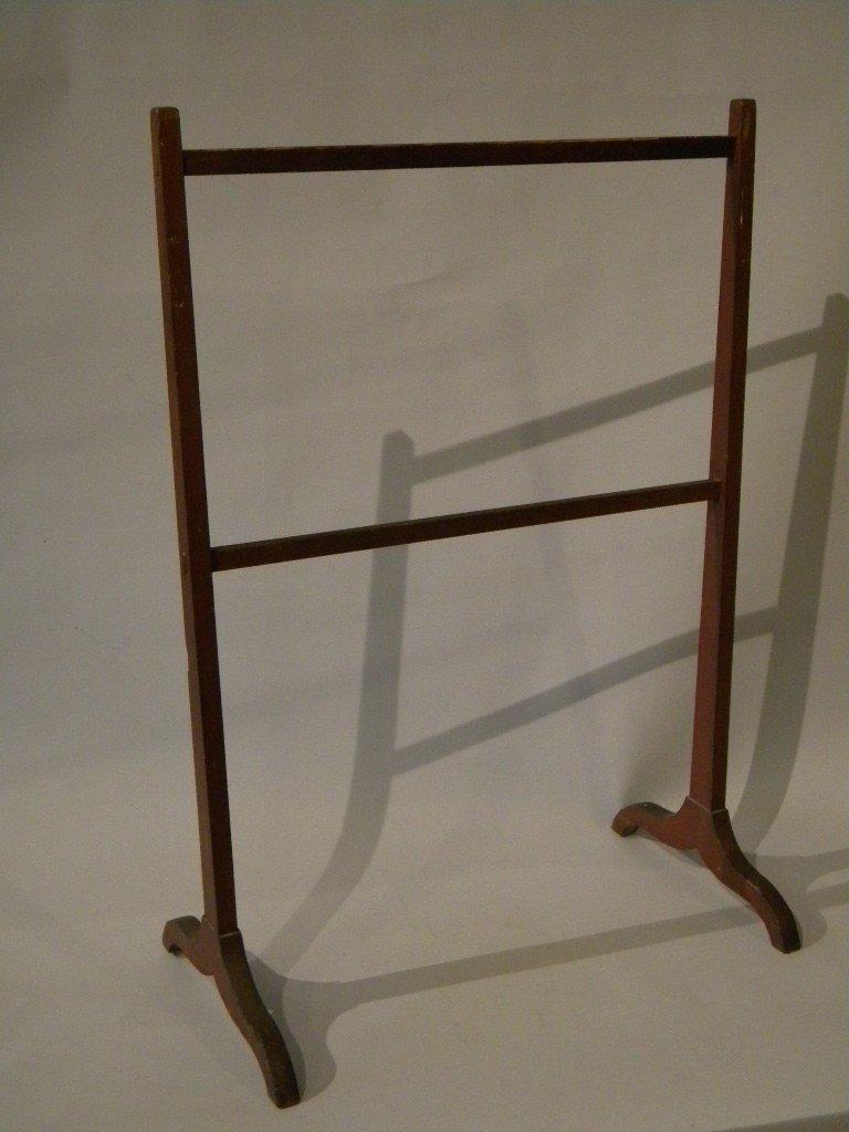 3: Shaker linen rack in original paint