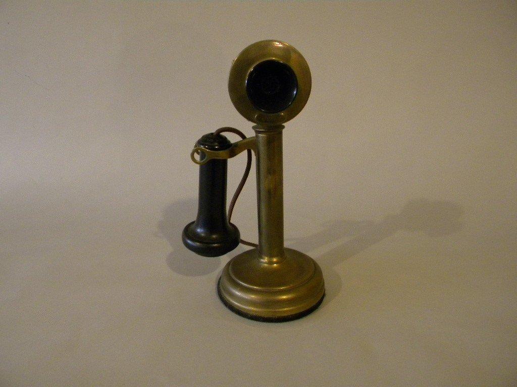 6: Candlestick phone, Stromberg Carlson telephone mfg 1
