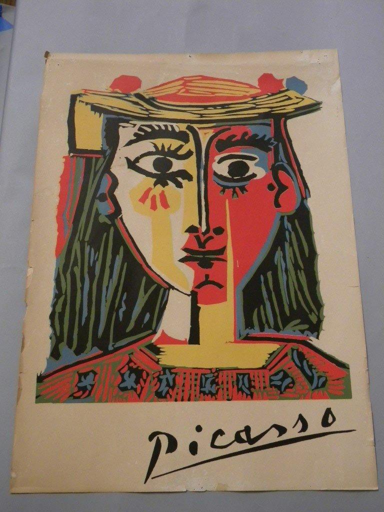 8: 1969 Picasso poster #757 Buchheim Verlag Feldafing B