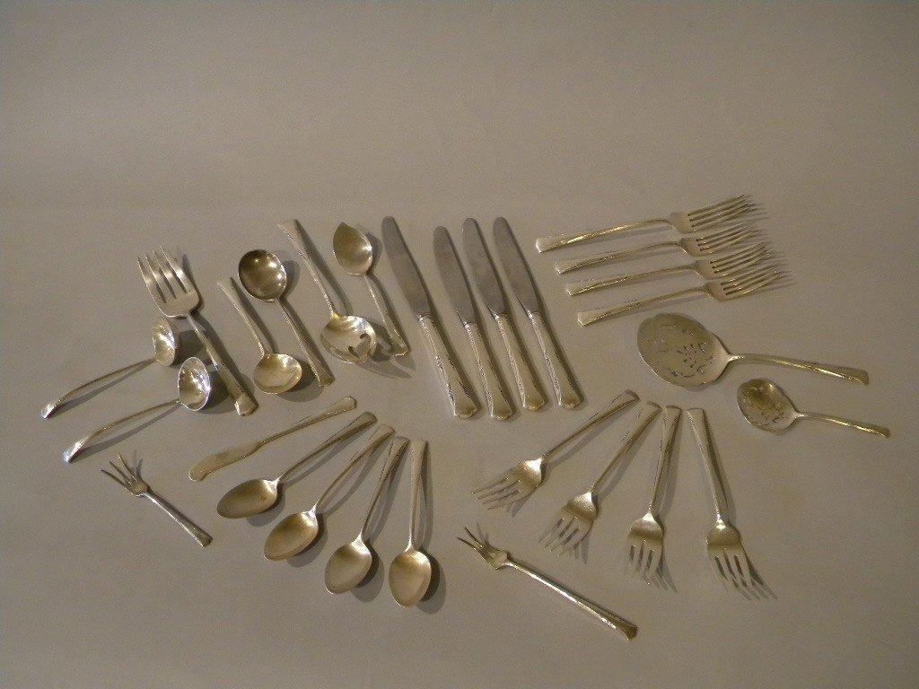 17: lot of sterling flatware by Gorham, Greenbrier patt